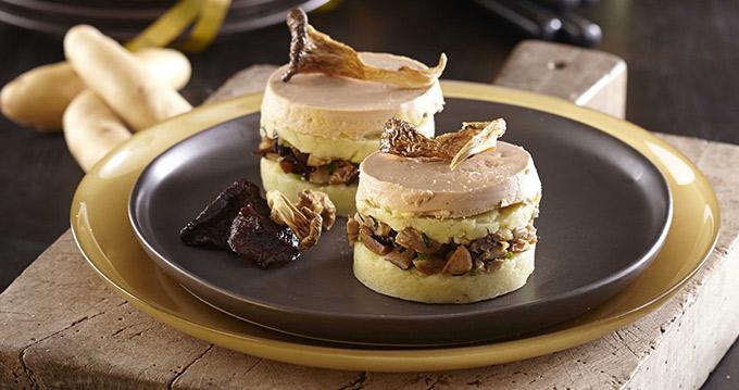 Parmentier de ratte du touquet au foie gras la pomme de terre des gastronomes - Preparation du foie gras ...