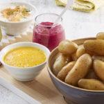 restes de pommes de terre cuites