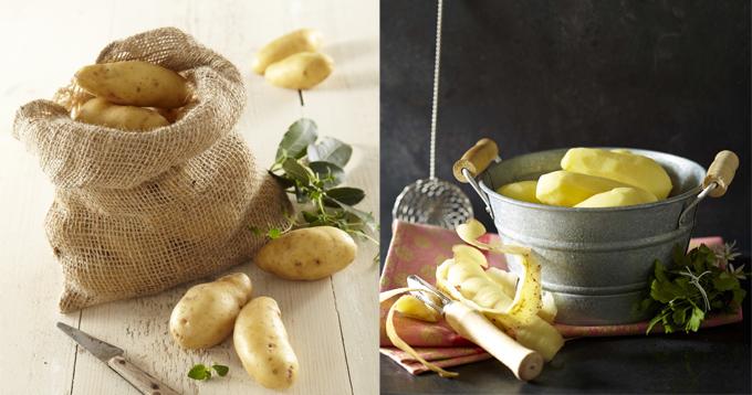 astuces gain de temps cuisson pommes de terre la ratte du touquet. Black Bedroom Furniture Sets. Home Design Ideas
