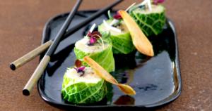 Maki de Rattes du Touquet, huître & chou kalé