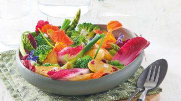 Salade printanière aux Ratte du Touquet