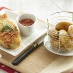 Escalopes milanaises & Ratte du Touquet rissolées