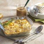 """Gratin de pommes de terre """"Ratte du Touquet"""" à la moutarde"""