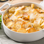 Gratin de Ratte du Touquet au fromage à raclette