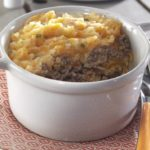 Parmentier de pommes de terre & potimaron