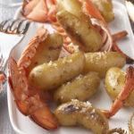 Ratte du Touquet aux sucs de homard
