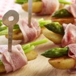 Sushis de Ratte du Touquet et asperges au lard