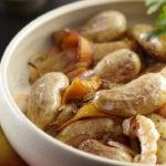 Risotto de Ratte du Touquet et crevettes