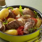 Romaziaf de bœuf malgache et Ratte du Touquet