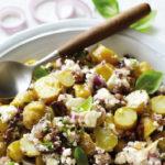 Salade de Ratte du Touquet à la grecque