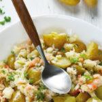 Salade de Ratte du Touquet aux crevettes