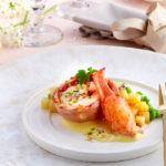 Tournedos de homard & bisque de Ratte du Touquet