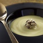 Velouté de Ratte du Touquet au beurre de truffe