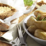 Camembert au four & Ratte du Touquet