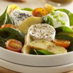 Salade de chèvre chaud aux Ratte du Touquet