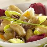 Salade hivernale de Ratte du Touquet aux endives