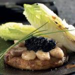 Galette de Ratte du Touquet moelle de boeuf et caviar Christian Germain