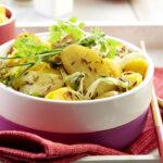 Salade de Ratte du Touquet à la mangue