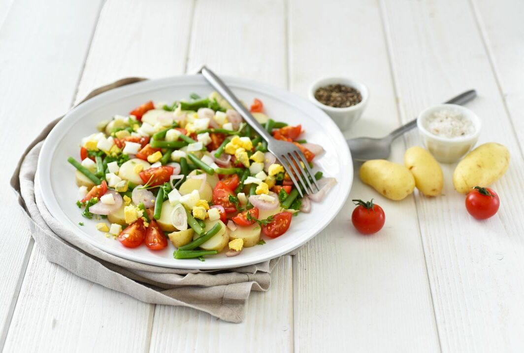 Salade de Ratte du Touquet aux haricots verts