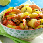 Salade marine de Ratte du Touquet