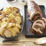 Filet de veau aux figues, sauce pain d'épices et Ratte du Touquet