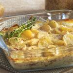 Gratin de Ratte du Touquet à la moutarde