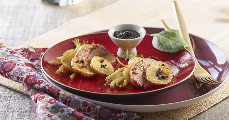 Ratte du Touquet au foie gras