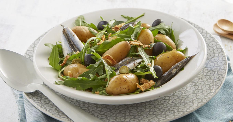 Salade de Ratte du Touquet aux anchois