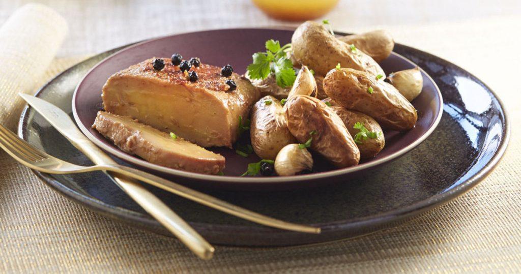 Foie gras roti
